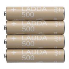 Аккумуляторная батарейка 500 Ма ЛАДДА